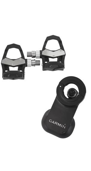 Garmin Vector 2S Pedaler pedalbaseret cykelwattmåler, stor sensor sort